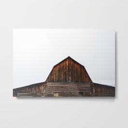 The Popular Barn Metal Print