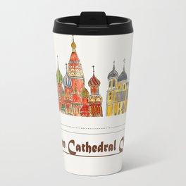 Colorful Cathedral Churches Travel Mug