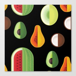 Fruity Canvas Print