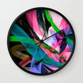 Flow Back Wall Clock
