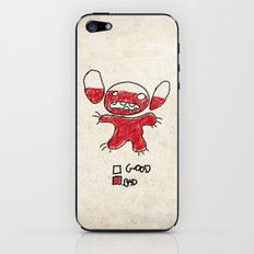 Stitch good&bad meter.... iPhone & iPod Skin