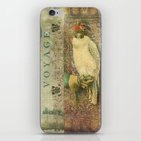 voyage iPhone & iPod Skins featuring Voyage by Aimee Stewart