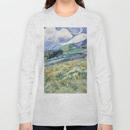 """Vincent van Gogh """"Mountainous Landscape behind Saint-Paul Hospital"""" Long Sleeve T-shirt"""