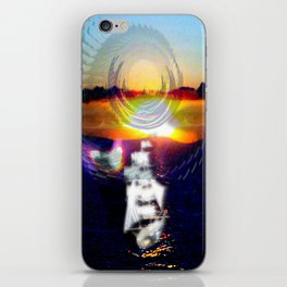 never feel alone iPhone Skin