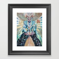 Empress Framed Art Print