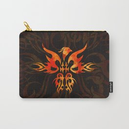 Fire Phoenix Bird Carry-All Pouch