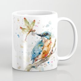 Interesting Relationships (Kingfisher & Dragonfly) Coffee Mug