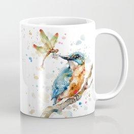 Interesting Relationships (Kingfisher & Dragonfly) Coffee Mug