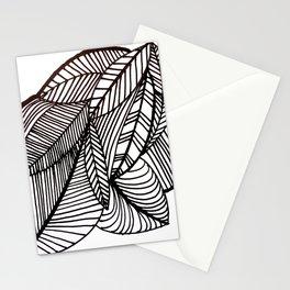 Let's leave together Stationery Cards