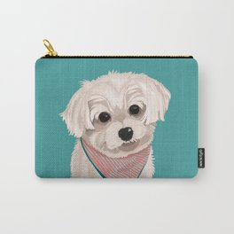 Zoey the Yorkie Poo Carry-All Pouch