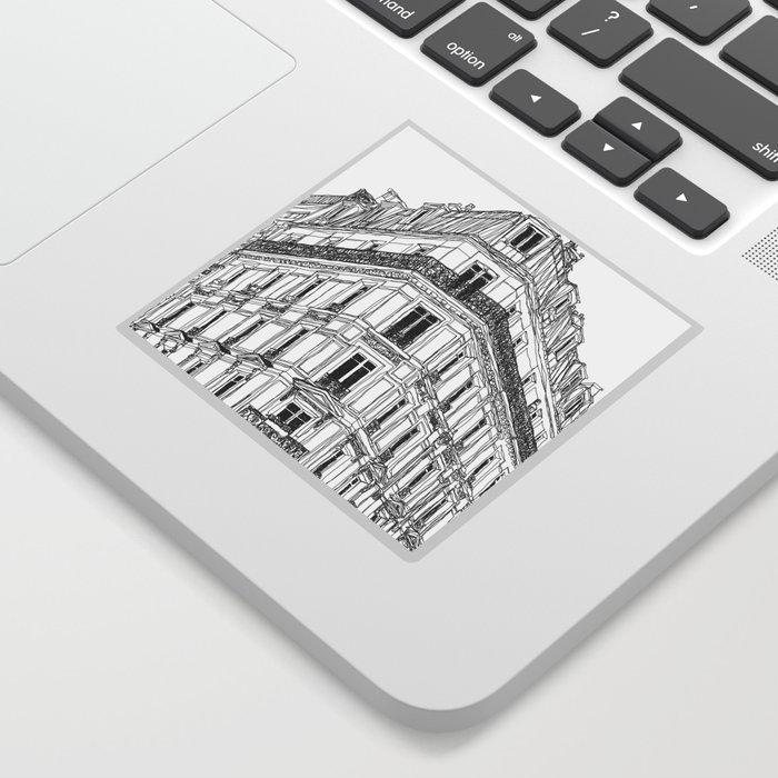 Parisian Facade Sticker