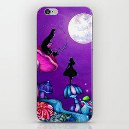 Alice in Wonderland and Caterpillar iPhone Skin