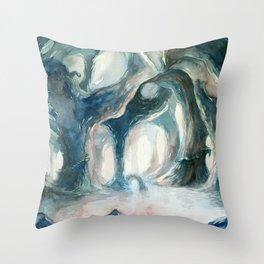 Cave Throw Pillow