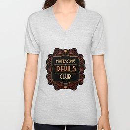 Handsome Devils Club Unisex V-Neck