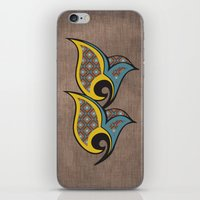 persian iPhone & iPod Skins featuring Persian Bird by Katayoon Photography