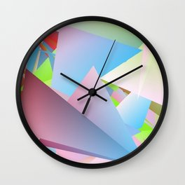 Outdoor Activities 3 Wall Clock