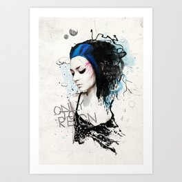 Amongst Stars Art Print