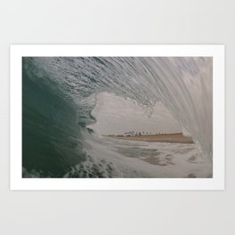 Winter Wave Art Print