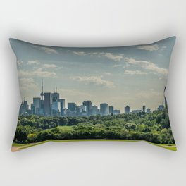 Summer City Rectangular Pillow