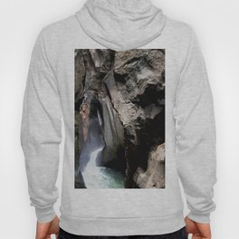 The 200-foot Rock Crevasse of Box Canyon Falls Hoody