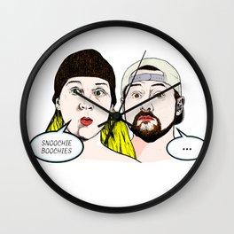 Jay & Silent Bob Comic Art Wall Clock