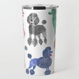Poodles by Veronique de Jong Travel Mug