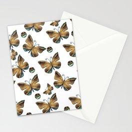 Envolée de papillons Stationery Cards