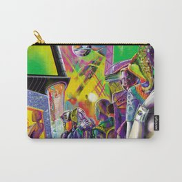 Cybercafé (Closeup) Carry-All Pouch