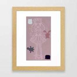 Mahou Shoujo Framed Art Print