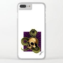 CS Clear iPhone Case