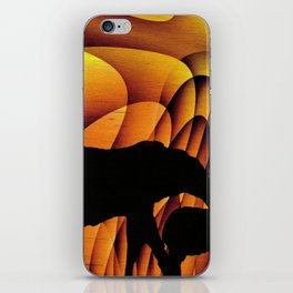 Storms Over Africa 2017 iPhone Skin
