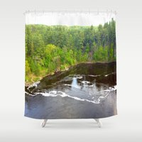 minnesota Shower Curtains featuring Minnesota Daybreak by JayKay