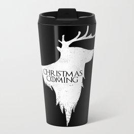 Christmas is Coming Metal Travel Mug