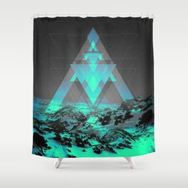 Neither Real Nor Imaginary II Shower Curtain