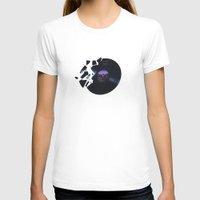 record T-shirts featuring Broken Record by Idan David