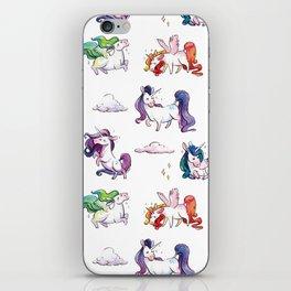 Chubby Unicorns iPhone Skin