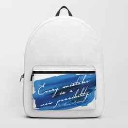 Barry Grump Quote Backpack