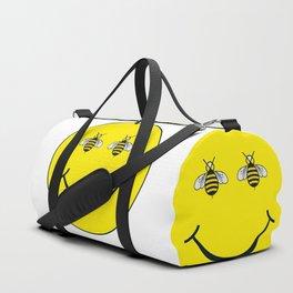 Bee happy Duffle Bag