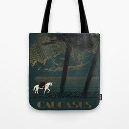 Vintage poster - Caucasus Tote Bag