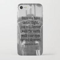 da vinci iPhone & iPod Cases featuring Flight Da Vinci by KimberosePhotography
