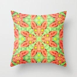 Sphynx Cat Pattern Throw Pillow