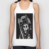 sons of anarchy Tank Tops featuring Sons Of Anarchy (Reaper) by ItalianRicanArt
