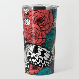 Paper kite garden Travel Mug