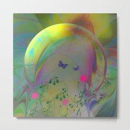 Dream Bubble Metal Print