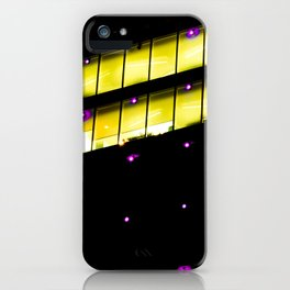 Luces y colores iPhone Case