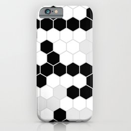 Honeycomb Pattern | Black and White Design | Minimalism iPhone Case