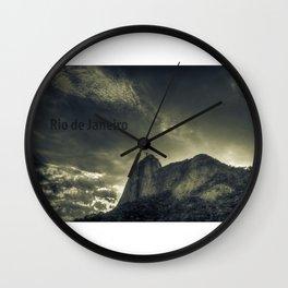 Rio de Janeiro: Cristo Redentor Wall Clock