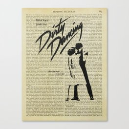 Dirty Dancing Canvas Print