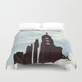 ...   3 Stars Escape... Duvet Cover
