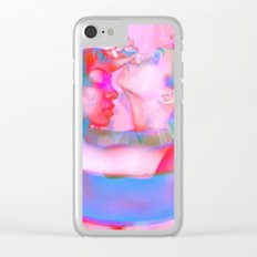 Neon Females Clear iPhone Case